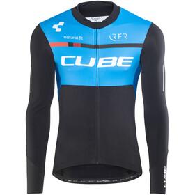 Cube Teamline Trikot langarm Herren black'n'blue'n'white